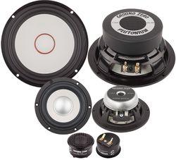 Ground Zero Audio | GZPC 16.3SQ-ACT | 16cm 3-Wege Lautsprecher System