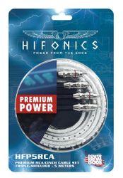 Hifonics HFP5-RCA - 5M Cinchkabel