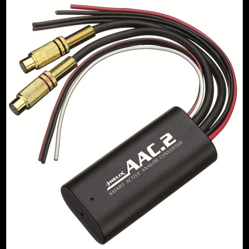 helix aac 2 high low konverter adapter. Black Bedroom Furniture Sets. Home Design Ideas