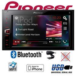 B-Ware K Pioneer MVH-AV290BT - 2DIN USB Bluetooth Touch iPhone Android Autoradio