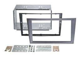 Radioblende 2-DIN Opel Corsa / Meriva / Vectra C / Signum / Tigra | charcoal metallic