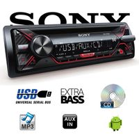 B-Ware K Sony CDX-G1200U - CD/MP3/USB Autoradio