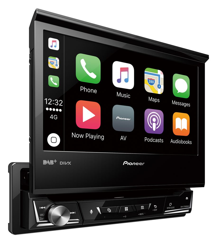 pioneer avh z7000dab 1 din moniceiver bluetooth dab usb android apple carplay. Black Bedroom Furniture Sets. Home Design Ideas