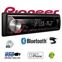 B-Ware Pioneer DEH-3900BT - Bluetooth | CD | MP3 | USB | Android - iPhone Autoradio