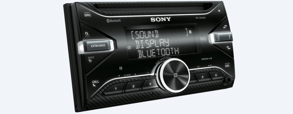 sony wx xb100bt 2din bluetooth autoradio. Black Bedroom Furniture Sets. Home Design Ideas