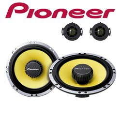 Pioneer TS-Q171C - 16cm 2-Wege Kompo Lautsprechersystem für Peugeot / Citroen
