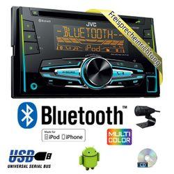 B-Ware K JVC KW-R920BT - 2DIN USB Bluetooth Autoradio