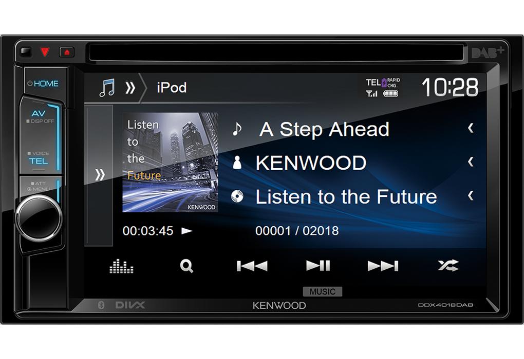 kenwood ddx4018dab 2din bluetooth dab digitalradio dvd usb cd mp3 autoradio. Black Bedroom Furniture Sets. Home Design Ideas