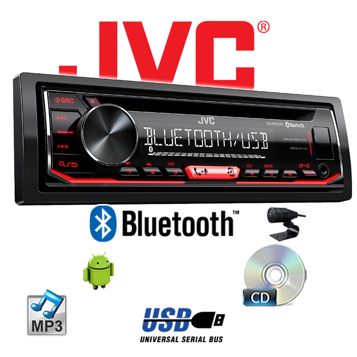 jvc kd r792bt bluetooth cd mp3 usb android autoradio kfz. Black Bedroom Furniture Sets. Home Design Ideas
