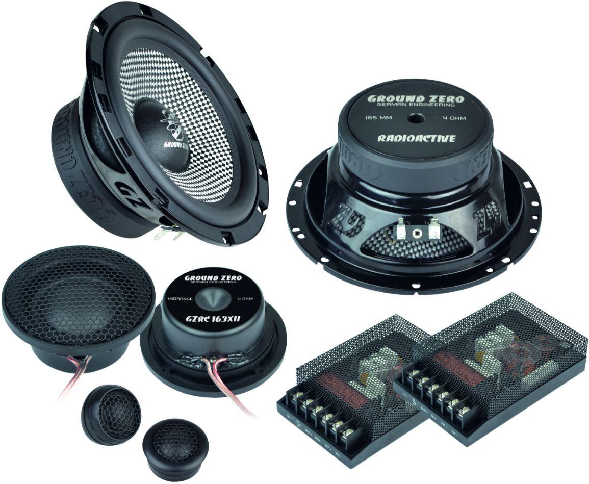 ground zero audio gzrc 16 3xii 16cm 3 wege lautsprecher system. Black Bedroom Furniture Sets. Home Design Ideas