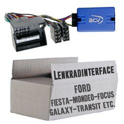 Lenkradfernbedienung Lenkradinterface Ford verschiedene Modelle (Quadlock) > Kenwood,JVC,Sony,Pioneer,Blaupunkt,Clarion,Alpine