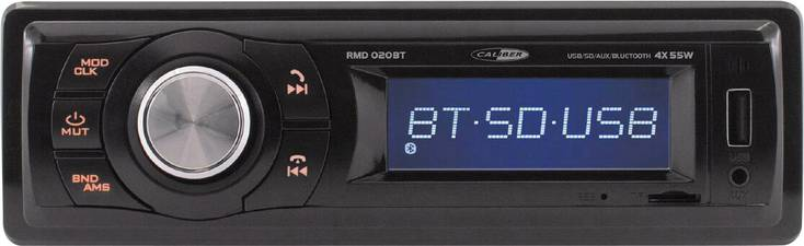 caliber rmd020bt bluetooth mp3 usb autoradio. Black Bedroom Furniture Sets. Home Design Ideas