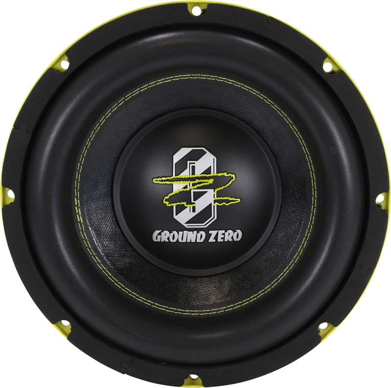 ground zero gzhw 25spl 25cm spl subwoofer. Black Bedroom Furniture Sets. Home Design Ideas