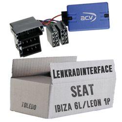 Lenkradfernbedienung Lenkradinterface Seat Ibiza / Toledo / Leon > Kenwood,JVC,Sony,Pioneer,Blaupunkt,Clarion,Alpine