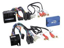 Lenkradfernbedienung Lenkradinterface Audi CAN-BUS ISO / Quadlock > Kenwood,JVC,Sony,Pioneer,Blaupunkt,Clarion,Alpine