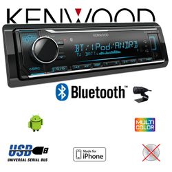 B-Ware K Kenwood KMM-BT304 - Bluetooth USB VarioColor Autoradio