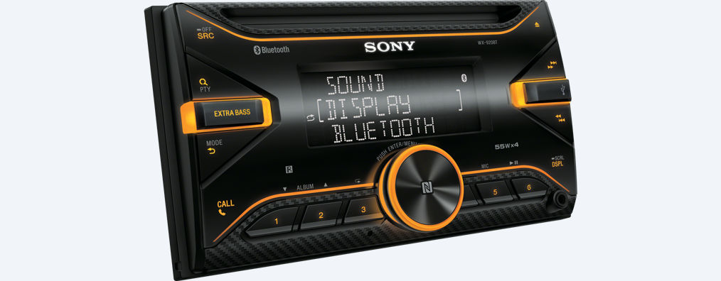 sony wx 920bt 2din bluetooth cd usb iphone autoradio. Black Bedroom Furniture Sets. Home Design Ideas