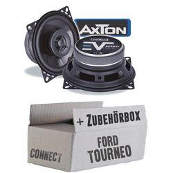 Lautsprecher Boxen Axton AE402F | 10cm 2-Wege Koax 100mm Auto Einbauzubehör - Einbauset für Ford Transit Tourneo Connect Heck - JUST SOUND best choice for caraudio