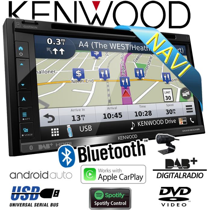 kenwood dnx5180dabs 2 din navi dab bluetooth cd carplay. Black Bedroom Furniture Sets. Home Design Ideas