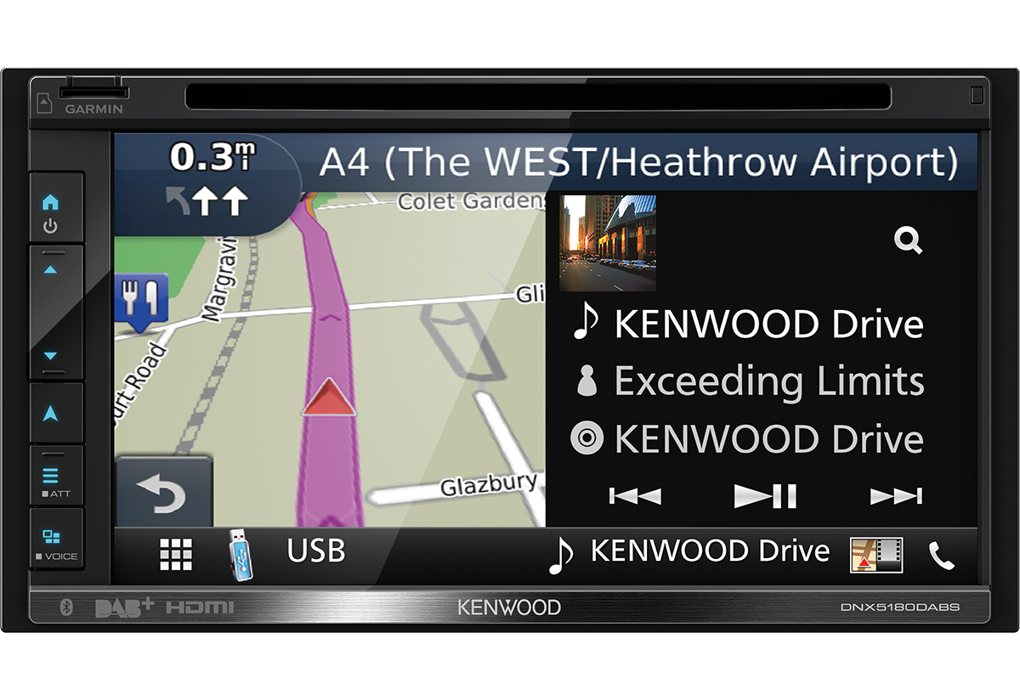 kenwood dnx 5180 dabs 2 din navi dab bluetooth cd. Black Bedroom Furniture Sets. Home Design Ideas
