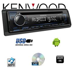 B-Ware Kenwood KDC-120UB - CD/MP3/USB Android-Steuerung - Autoradio