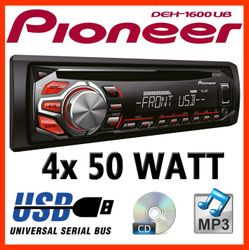 B-Ware-K Pioneer DEH1600UB - CD/MP3/USB Radio