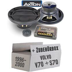Volvo V / S 70 Heck - Lautsprecher Boxen Axton ATC26 | 16cm 2-Wege Kompo System Auto Einbauzubehör - Einbauset