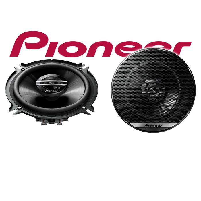 JUST SOUND best choice for caraudio Lautsprecher Boxen Pioneer TS-G1320F 13cm 2-Wege 130mm PKW Koaxiallautsprecher Auto Einbausatz Einbauset f/ür Mercedes C