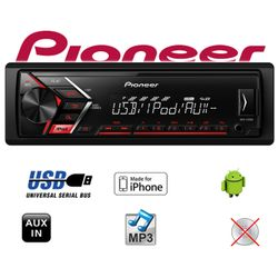 B-Ware K Pioneer MVH-S100UI - | MP3 | USB | Android | iPhone Autoradio