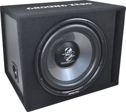 Ground Zero GZIB 250XBR | 25cm  Gehäuse Subwoofer