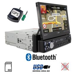 Caliber RMN575BT - Navigation | Bluetooth | MP3 | USB | SD | 7' TFT Autoradio
