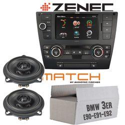 Zenec Z-E3215-MKII   2-DIN Autoradio mit Bluetooth   USB   BMW 3er E90, E91, E92, E93 / Match Lautsprecher Tür vorne MS 4X-BMW.1