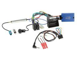 Lenkradfernbedienung Lenkradinterface inklusive Multilead & Fakra Antennenadapter VW > Kenwood,JVC,Sony,Pioneer,Clarion,Alpine