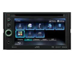 B-Ware JVC KW-AV61BTE - 2-DIN   DVD   Bluetooth   MP3   USB Autoradio