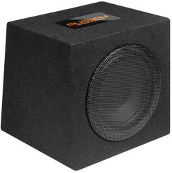 "Musway MR1080Q - SINGLE-BASSREFLEX-SYSTEM MIT  20 CM (8"") SUBWOOFER"