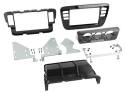 2-DIN Radioblende  VW Up / Seat Mii / Skoda Citigo piano schwarz