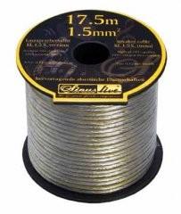 Sinus-Live KL1.5 Lautsprecherkabel silverline 17,5m