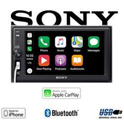B-Ware K Sony XAV-AX1000  - 2DIN Bluetooth   Apple CarPlay   USB Autoradio