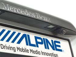 Alpine Rückfahrkamera-Einbauset für Mercedes Vito (V447) - KIT-R1V447