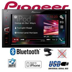 C-Ware Pioneer MVH-AV290BT - 2DIN USB Bluetooth Touch iPhone Android Autoradio