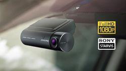 Alpine Dashcam mit Fahrerassistenzfunktionen - DVR-F800PRO