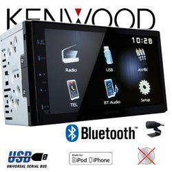 B-Ware K Kenwood DMX110BT - 2DIN Bluetooth   USB   MP3   7' TFT Autoradio
