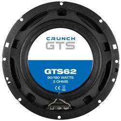 Crunch GTS62 - 16cm 2-Wege Koax Lautsprecher GTS 62