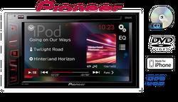 B-Ware K Pioneer AVH-190DVD - 2-DIN   CD/DVD   MP3   USB   iPhone Autoradio