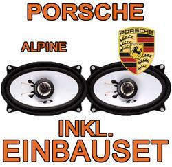 Porsche - Alpine SXE-4625S - 4x6 Koax-System