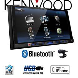 C-Ware Kenwood DMX100BT - 2DIN Bluetooth | USB | MP3 | 7' TFT Autoradio