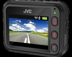 JVC GC-DRE10-S - Kompakte Full-HD Dashcam mit GPS und Wlan