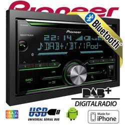 B-Ware Pioneer FH-X840DAB 2-DIN - Bluetooth   DAB+ Digitalradio   CD   USB   Spotify für iPhone   Autoradio