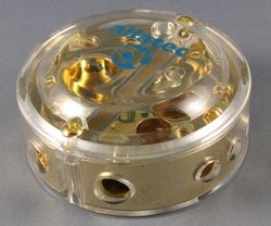 Kondensator Verteiler Stromverteiler G21 GOLD