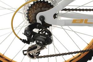 "Mountainbike Fully 26"" Bliss weiss-gelb – Bild 3"